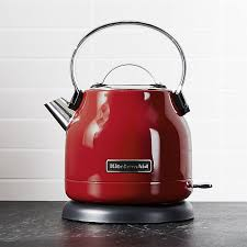Kitchenaid Kettle And Toaster Kitchenaid Red Electric Kettle Crate And Barrel