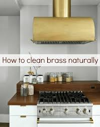 how to clean brass with ingredients apartment therapy