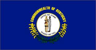 kentucky flag map kentucky state flag