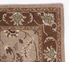Green And Brown Area Rugs Grey Brown Beige Green Ivory Antique Traditional Hand Tufted Wool