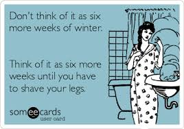 groundhog day cards don t think of it as six more weeks of winter think of it as six