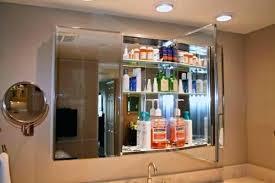 beveled glass medicine cabinet recessed mirrored medicine cabinet surface mount h recessed or surface mount