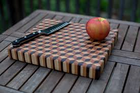 Maple Cutting Boards My First Cutting Board 3d End Grain Using Hard Maple Cherry And