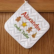 christmas cookies personalized potholders christmas gifts