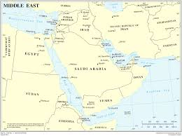 Political Map Of The Middle East by Map Of Middle East Political Map Worldofmaps Net Online Maps
