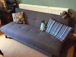 Click Clack Bed Settee Almost New Click Clack Bed Sofa In Enfield London Gumtree