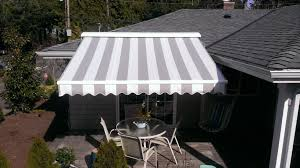 Material For Awnings Durasol Awnings With Sunbrella Fabric Kirkland All Seasons Sun