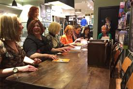 the book of unwritten rules is launched at waterstones curtis
