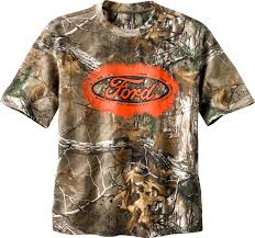 Ford Camo Truck Accessories - trucked up ford camo s s tee legendary whitetails