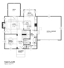 Tudor Style Home Plans by Tudor Style House Plan 3 Beds 2 50 Baths 1810 Sq Ft Plan 901 80