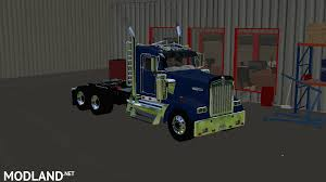 kenworth trucks 2017 kenworth w900 daycab mod farming simulator 17