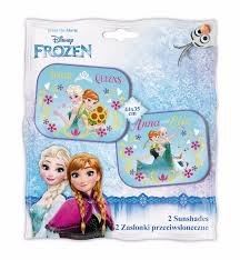 Kids Car Blinds 2x Disney Frozen Sister S86 Car Window Sunshades Baby Kids