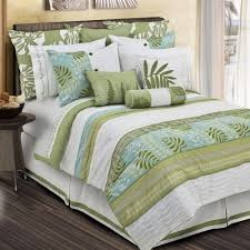 Beach Comforter Sets Bedroom Belize Tropical Comforter Set In Twin Queen And King With