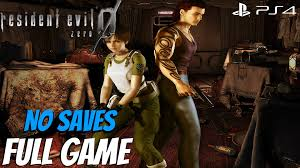 resident evil zero hd remaster full game walkthrough no saves