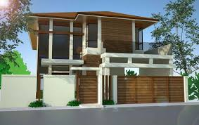 Floor Plan For Two Storey House In The Philippines Download Two Storey Modern House Designs Homecrack Com