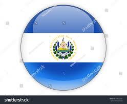 Flag El Salvador Round Icon Flag El Salvador Isolated Stock Illustration 294125081
