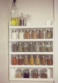 semi diy wall spice rack