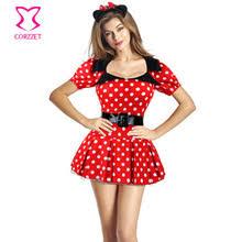 Halloween Costume Polka Dot Dress Popular Mouse Halloween Costumes Buy Cheap Mouse Halloween