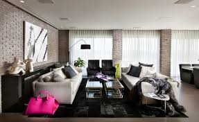 urban modern interior design urban apartment by architect michal schein design milk