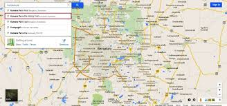 India On World Map by Searching A Gps Trekking Trail In South India On Google Map
