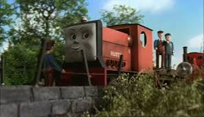 rusty train rusty saves the day thomas the tank engine and friends wiki