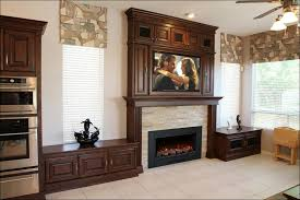 Interior Gas Fireplace Entertainment Center - living room wonderful electric inserts for existing fireplaces