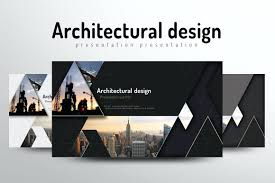 architecture layout design psd template architecture presentation template