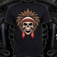 indian warrior custom t shirts tshirt factory