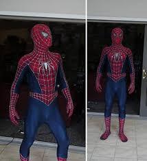 Spiderman Costume Halloween Spiderman Costume Replica Ebay Geekologie
