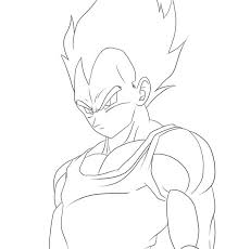 coloring pages alluring vegeta coloring pages vegeta coloring
