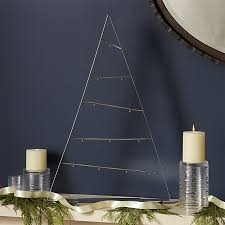 large silver a frame ornament tree crate and barrel