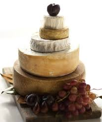 wedding cake made of cheese holy cheese wheels food on the food