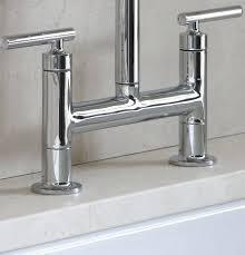 bridge faucets kitchen bridge faucet kitchen 2 handle bridge kitchen faucet with