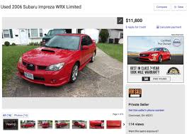 subaru wrx red is a red u0027baby driver u0027 impreza wrx rarer than a 22b drivetribe