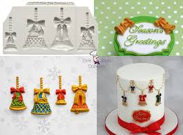 katy sue designs embellishments christmas bells silicone mould