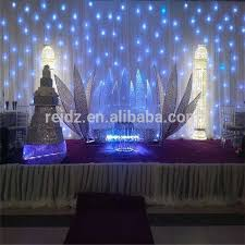 wedding backdrop material wedding stage backdrop decoration christmas stage decoration