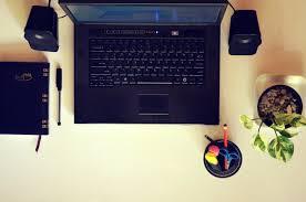 ordinateur portable bureau image libre ordinateur portable technologie moniteur d ordinateur