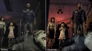 telltale u0027s the walking dead getting visual upgrade in ps4 xbox