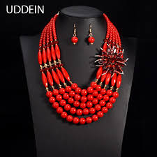indian bead jewelry necklace images Uddein nigerian wedding indian jewelry women crystal flower jpg