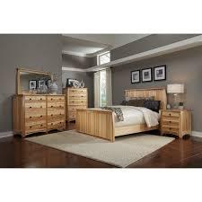 adamstown solid hickory bedroom set
