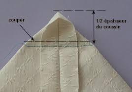 refaire coussin canapé coupe couture coussin épais 1ère méthode
