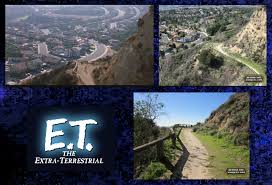 Porter Ranch Map Finding E T The Extra Terrestrial The Filming Locations Of E T