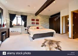 Dressing Room Pictures by Stylish Master Bedroom With Ensuite And Dressing Room Stock Photo