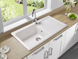 White Kitchen Faucet by Ideas Stunning Farmhouse White Kitchen Sinks For Sale And Bronze