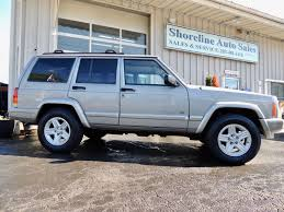 jeep xj stock bumper 2000 jeep cherokee limited edition shoreline auto sales