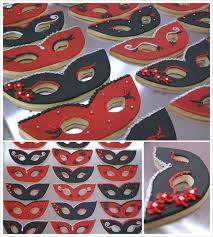 masquerade cookies cookie creatives cookies for a sweet 16 masquerade