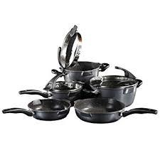batterie de cuisine en stoneline stoneline batterie de cuisine 8 pièces amazon fr cuisine maison