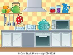 cuisine clipart kitchen theme image 1 vector illustration vector illustration