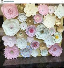 wedding backdrop tutorial 250 best paper flower images on paper flowers