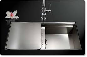 Single Undermount Kitchen Sinks by Houzer Nvs 5200 Novus Single Bowl Sliding Dual Platform Stainless